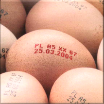 Przemysł spożywczy - znakowanie jajek
